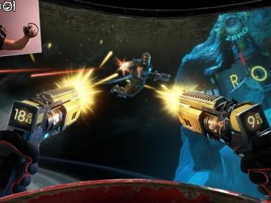 【E3 17】不讓 Farpoint 專美於前 UBISOFT 發表對應 Vive 操作的 VR 射擊遊戲《SPACE JUNKIES》