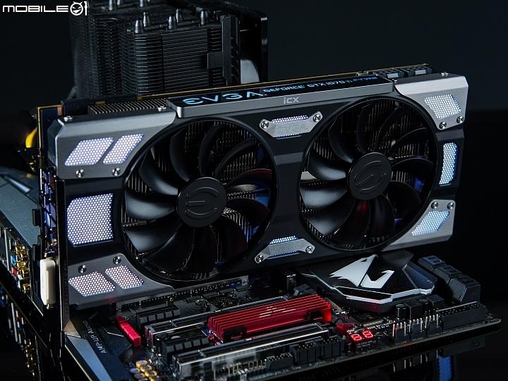 自動超頻 全面溫控 EVGA GeForce GTX1070Ti FTW2 GAMING實測