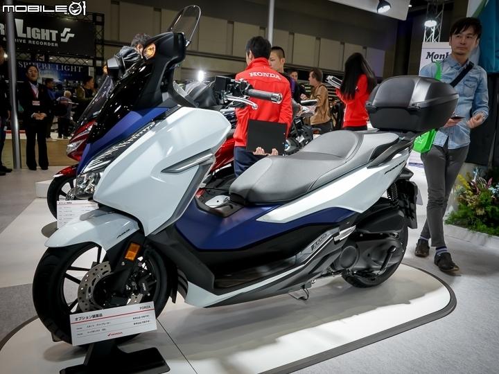 [2018東京機車展]Honda FORZA 大改款實車鑑賞!好料全上車的極致通勤大羊!
