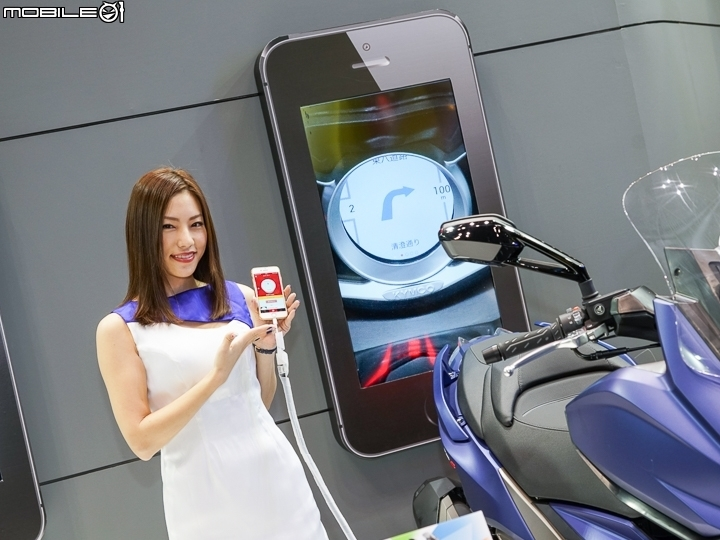 [2018東京機車展]KYMCO Noodoe Navigation 首發!機車儀錶正式搭載導航功能!