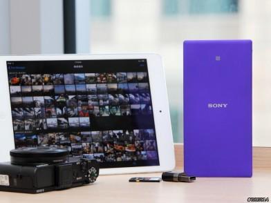 外出幫手:SONY WG-C20  無線傳檔+行動電源多功合一