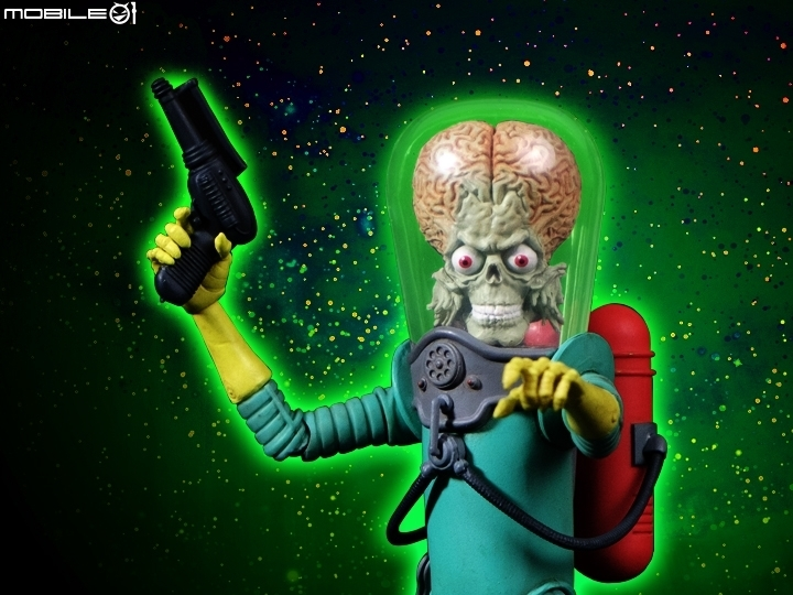 【惡趣味】重回奇想般的科幻世界!Mars Attacks!50週年火星士兵開箱