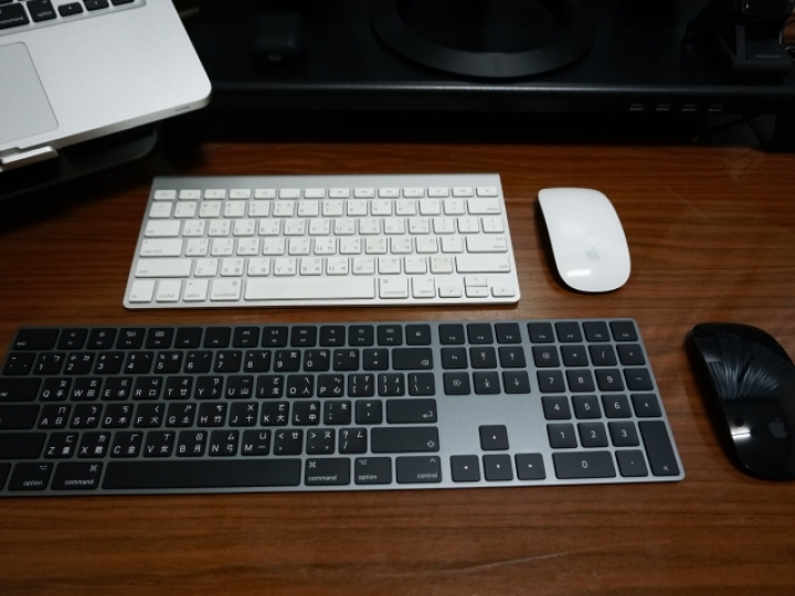 深空灰 Magic Mouse 2 &Magic Keyboard 2開箱