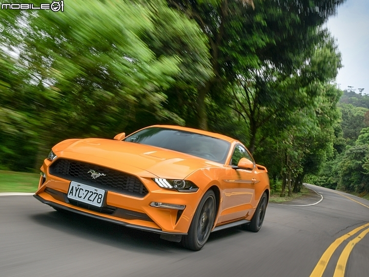 Ford Mustang Ecoboost Premium試駕 十速自排、電子儀錶加持躍升科技種馬
