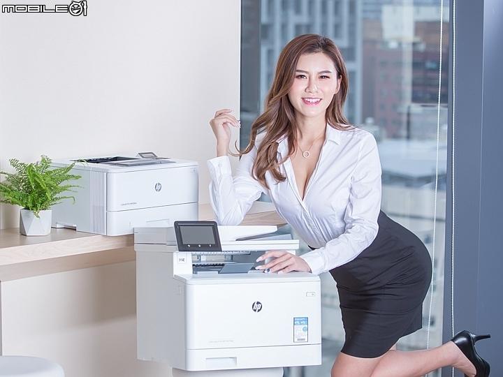 速度更快 防護更嚴 HP Color LaserJet Pro MFP M477fdw&LaserJet...