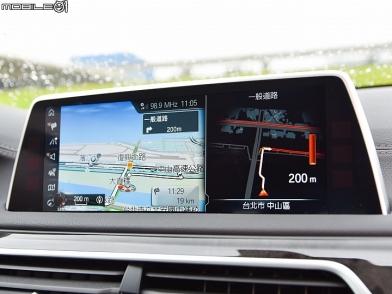 強大的隨車幫手 BMW New 740Li GPS實測分享