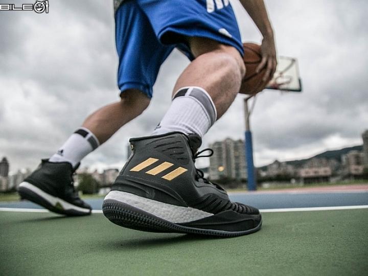 期待衝破陰霾!穩定進化的玫瑰戰靴 adidas D Rose 8 開箱實測!