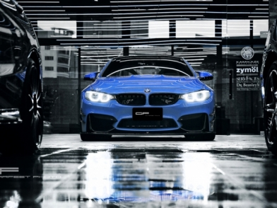 —爆藍轎跑— BMW F36 Liberty Walk 之 短短幾個秋 不爆不罷...