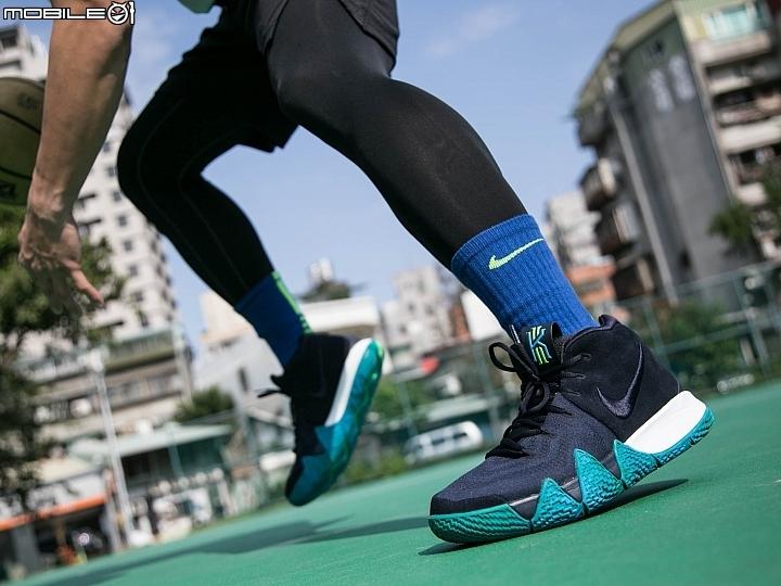 為疾速而生  奇幻莫測的Nike KYRIE 4開箱實穿分享