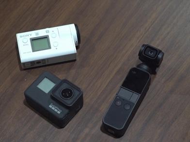 三機大比拼!DJI OSMO Pocket、GoProHERO7、SONY FD...