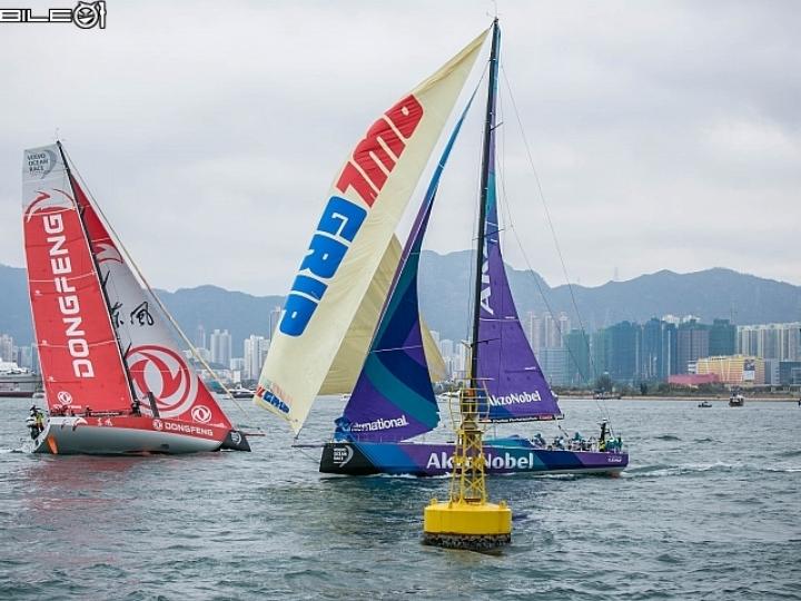 世上最艱困的體育賽事!Volvo Ocean Race 香港帆船港內賽紀實!