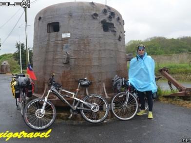 四個歐吉桑單車環法大探險(8)-向諾曼第登陸作戰的英雄致敬 5/20 巴約-諾曼第-聖洛 80km