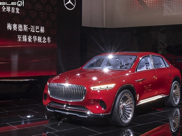 【2018北京車展】臻至奢華的體現! Vision Mercedes-Maybach Ultimate Luxury概念車