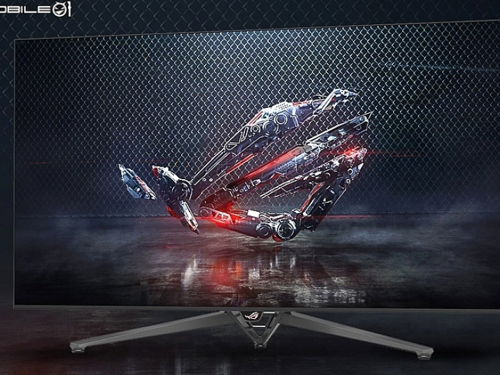 內建NVIDIA SHIELD Android TV 華碩推出65吋ROG SWIFT PG65 4K HDR G-Sync電競顯示器