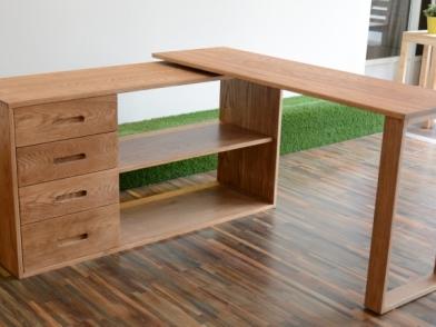 [開箱]我的新書桌(L型轉角桌)