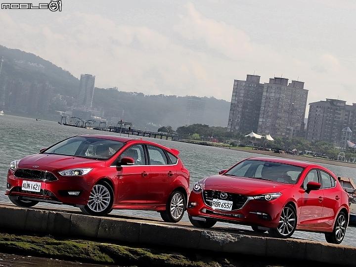 運動掀背風! Ford Focus v.s. Mazda 3試車報導