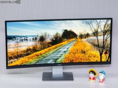 超廣視野感受 Dell UltraSharp  U3415W 34吋曲面顯示器