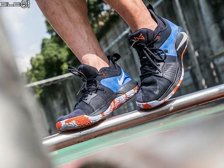 風馳電掣 雷霆隊球星Paul George第二代戰靴Nike PG2實戰分享