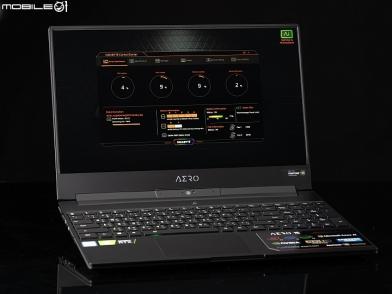 GIGABYTE Aero 15-Y9 導入 AI 技術的薄型電競筆電