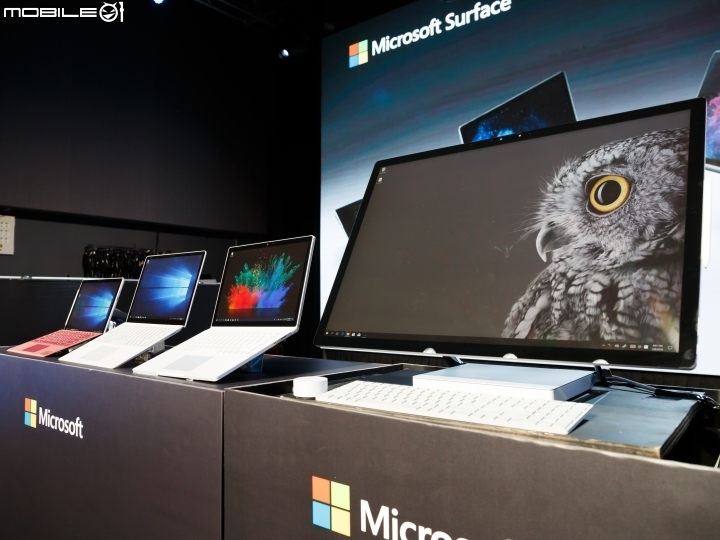 微軟 Surface Book 2 正式上市 Surface Studio 三月接續抵台