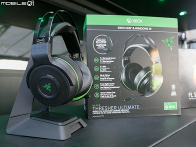 【E3 17】Razer Thresher Ultimate Xbox One 無線耳麥 E3 動手玩