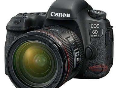 【新訊】Canon EOS 6D Mark II 更多規格流出!