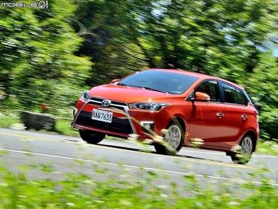 不懼引燃戰火 Toyota Yaris