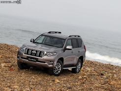 陸地巡洋艦! 小改款Toyota Land Cruiser Prado試駕報導