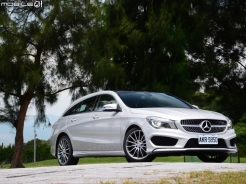 鎖定你目光 Mercedes-Benz CLA250 Shooting Brake