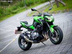 Z家族級距補齊 Kawasaki Z900試駕