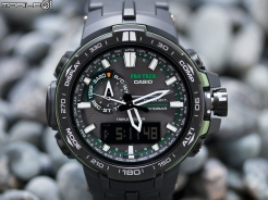 CASIO PRO TREK PRW-6000 太陽能電波登山錶