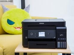 雙網四合一 EPSON L6190連續供墨複合機試用