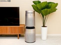 全面吹送潔淨空氣 LG PuriCare 360°空氣清淨機(AS951D)
