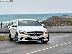 盡顯原生跑格 Mercedes-Benz CLA200