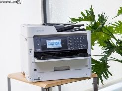 Epson WorkForce Pro WF-C5790事務機試用 15萬耐印量成本更省