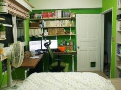 [開箱] 抹茶拿鐵不加糖,綠色控小房間大改造!