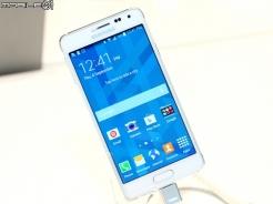 [IFA 2014] Samsung GALAXY Alpha 金屬框架超薄6.7mm