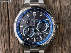 全金屬湛藍紳士 GPS混合電波錶‧CASIO OCEANUS OCW-G1000