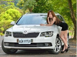 瞄準家庭旅行市場 Skoda Superb Combi 2.0 TDI