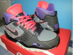 "( 開箱 ) NIKE 變形金剛密卡登聯名款Nike Air Trainer SC II ""Megatron"""