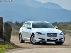 不只同中求異 Jaguar XF Sportbrake 2.2D Luxury