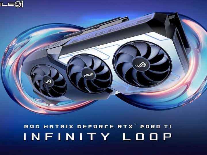 華碩ROG Matrix GeForce RTX 2080Ti開賣 信仰價NT.58990元
