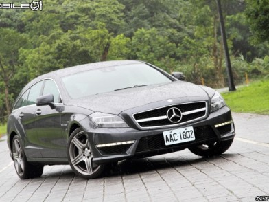 暴力美學新詮釋 Mercedes-Benz CLS63 AMG Shooting Brake