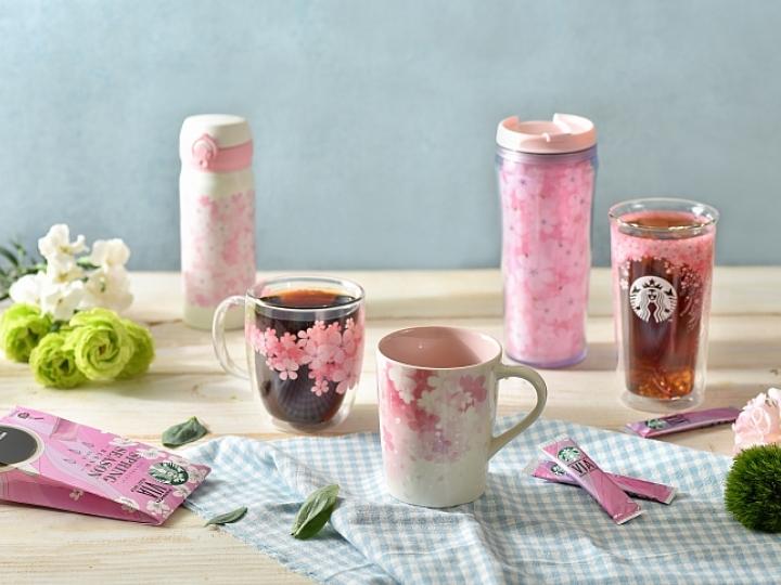 [快訊]粉嫩櫻花來襲 統一星巴克櫻花杯正式開賣