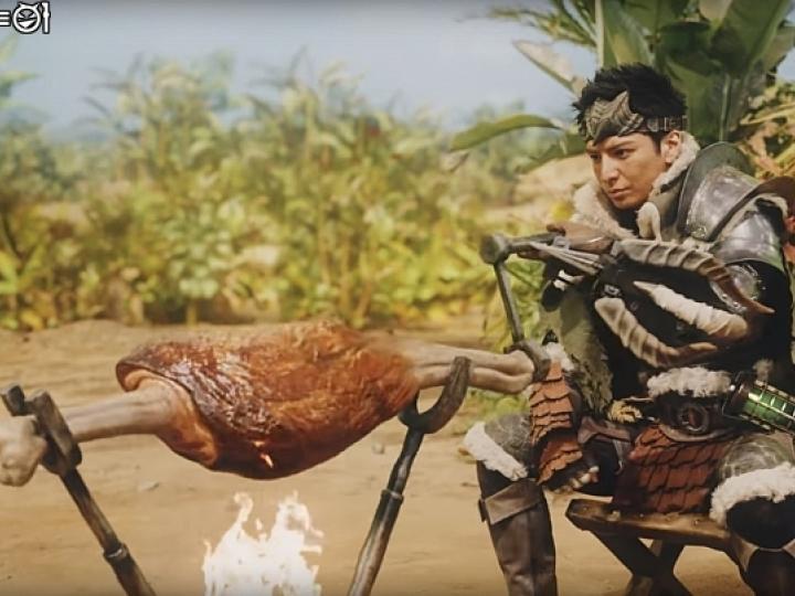 【情報】雷隊友神還原!SUNTORY推出《魔物獵人》主題廣告