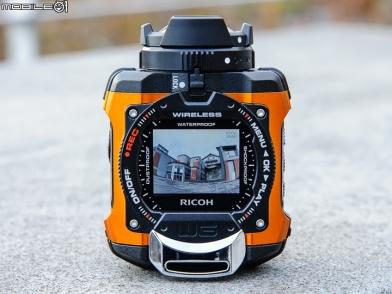 全方位運動攝影機 Ricoh WG-M1