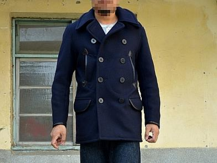 [鐵漢柔情] RRL Limited-Edition Wool Pea Coat by Schott