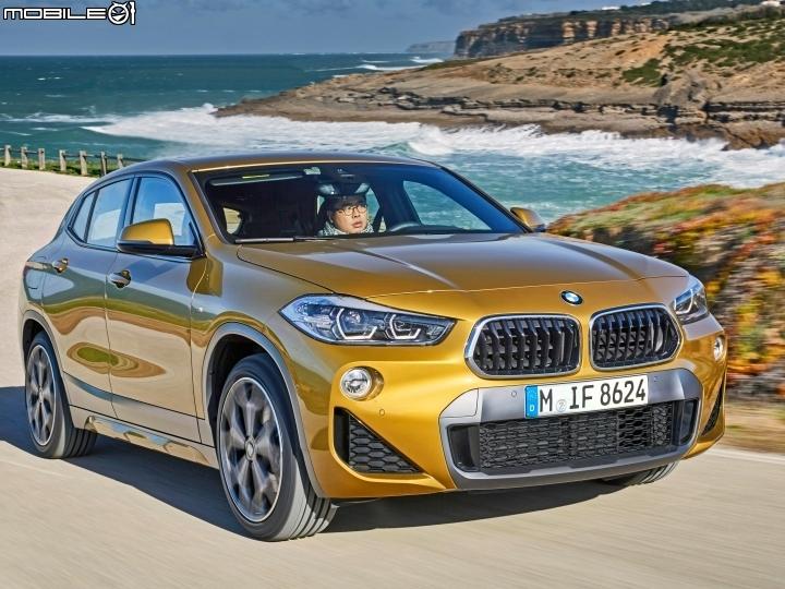 樂趣、實用兩全其美 BMW X2葡萄牙搶先試駕