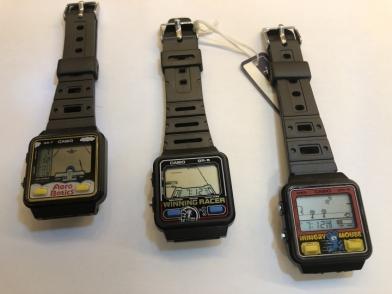 30年前的回憶 CASIO GR-5 賽車遊戲錶