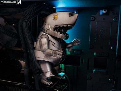 小心鯊魚出沒!Momoco Studio 鐵甲鯊力士來襲